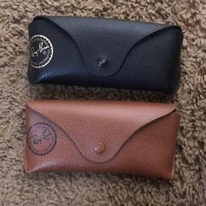 Set of 2 Ray Ban soft cases